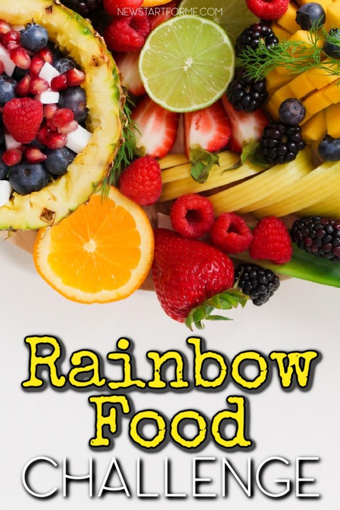 Eat a rainbow every day! Join our FREE Rainbow Food Challenge and learn how eating a rainbow can increase your energy and overall well-being!