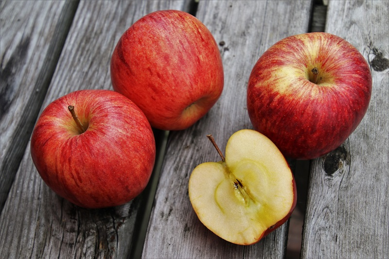 Herbalife Digestive Health Benefits Apples With One Cut in Half