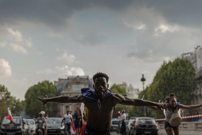 Herbalife Immune Health Benefits Man Dancing in a Parade
