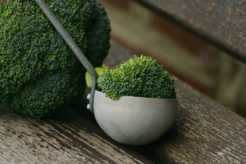 Herbalife Digestive Health Benefits Broccoli in a Ladel