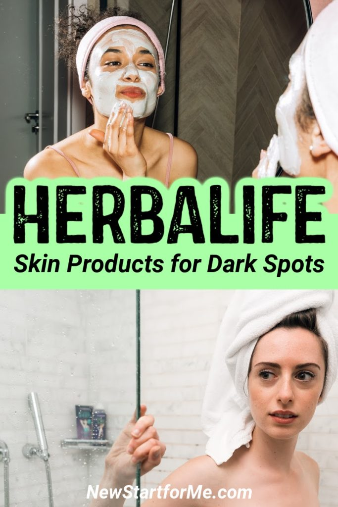 Herbalife skin products for dark spots can help you fight the signs of aging from home with no need for needles.