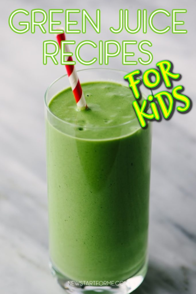 Introduce your kids to a healthier snack or juice with green juice recipes for kids that will give them real vitamins and minerals.