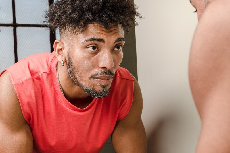Herbalife Skin Product Benefits Man Looking at Himself in the Mirror